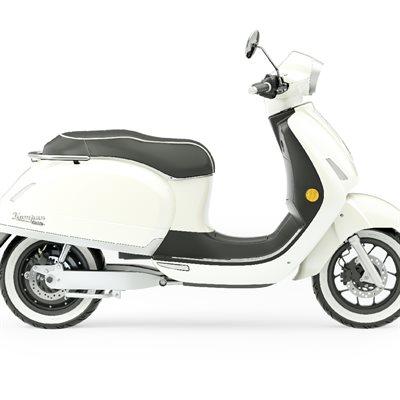 1954 RI Kumpan electric scooter Magnolia white 70 km / h